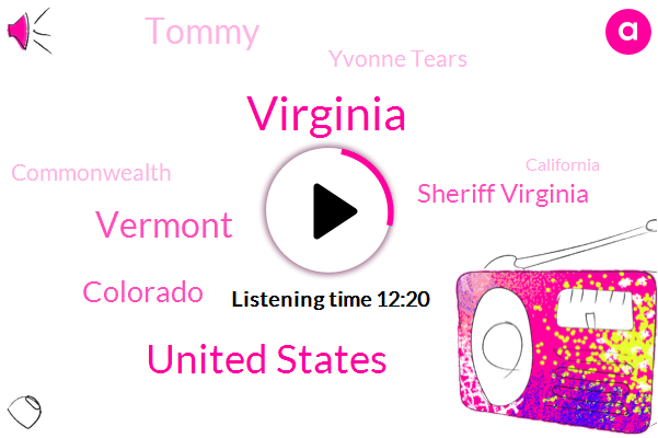 Virginia,United States,Vermont,Colorado,Sheriff Virginia,Tommy,Yvonne Tears,Commonwealth,California,Mathews County,House House,Gloucester,Attorney,Pettit,FOX