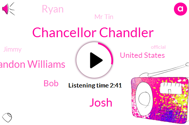 Chancellor Chandler,Josh,Brandon Williams,BOB,United States,Ryan,Mr Tin,Jimmy,Official,Annette,America,Louis