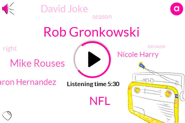 Rob Gronkowski,Patriots,NFL,Mike Rouses,Aaron Hernandez,Nicole Harry,David Joke