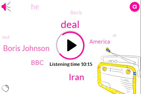 Boris Johnson,Iran,BBC,America
