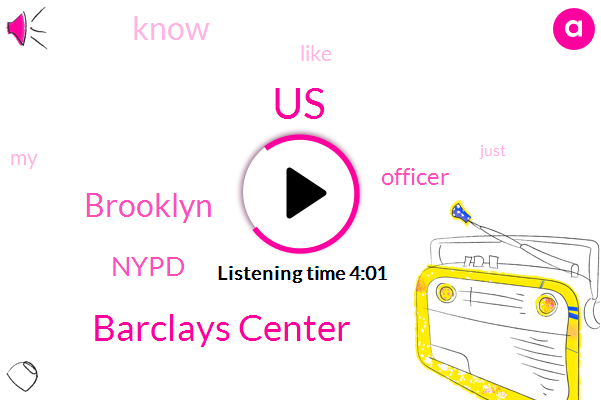 United States,Barclays Center,Brooklyn,Nypd,Officer