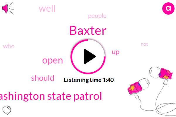 Baxter,Washington State Patrol