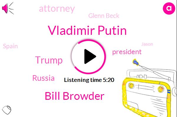 Vladimir Putin,Bill Browder,Donald Trump,Russia,Attorney,President Trump,Glenn Beck,Spain,Jason,Tampa,United States,State Department,Magnitsky,Interpol,Washington,Congress,Department Of Homeland,Helsinki