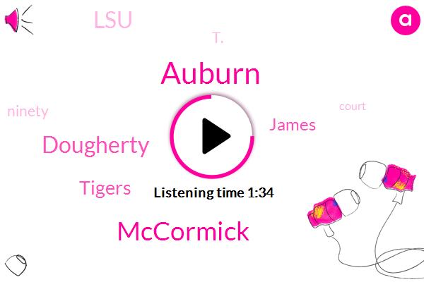Auburn,Mccormick,Dougherty,Tigers,James,LSU,T.