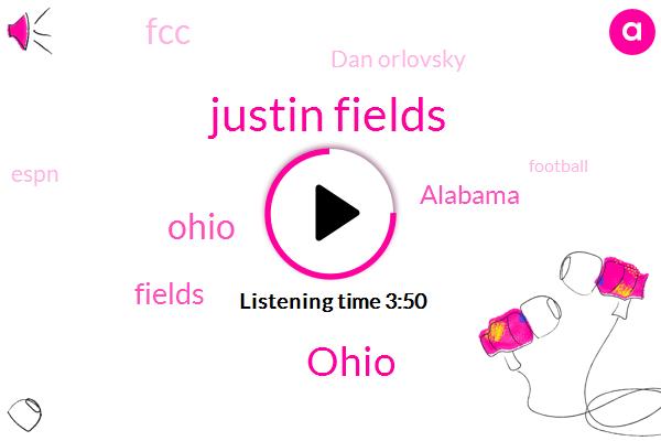 Justin Fields,Ohio,Fields,Alabama,FCC,Dan Orlovsky,Espn,Football