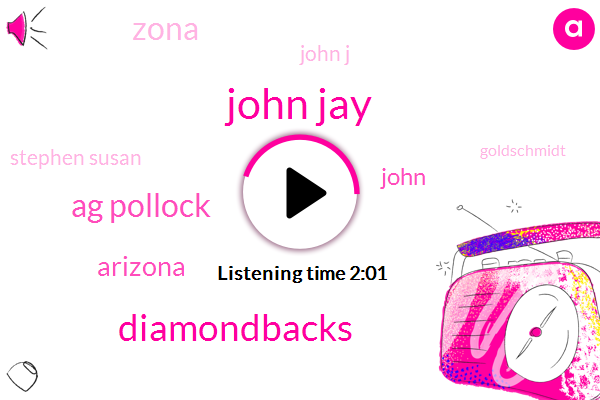 John Jay,Diamondbacks,Ag Pollock,Arizona,John,Zona,John J,Stephen Susan,Goldschmidt,Twenty Four Hours,Ten Days