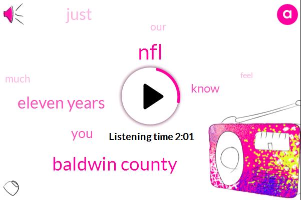 NFL,Baldwin County,Eleven Years