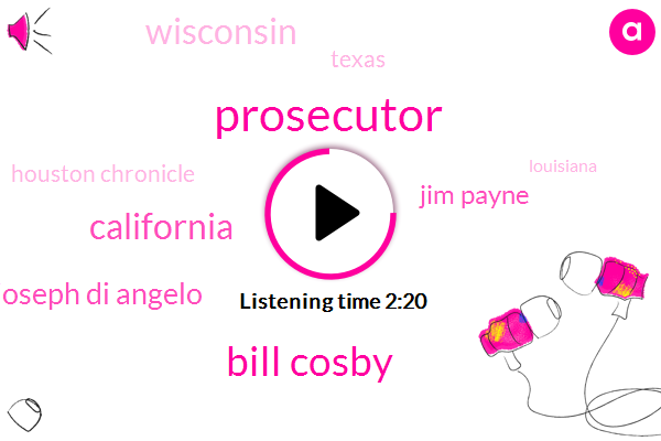 Prosecutor,Bill Cosby,California,Joseph Di Angelo,Jim Payne,Wisconsin,Texas,Houston Chronicle,Louisiana,Officer,Jeff Brown,WBZ,Paul Bell,Sixty One Degrees