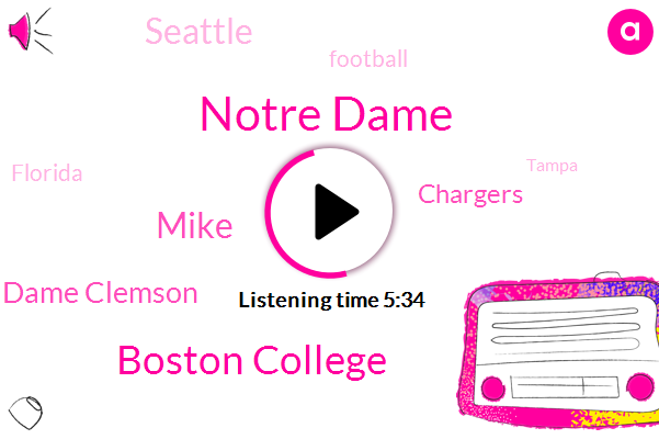 Notre Dame,Boston College,Mike,Notre Dame Clemson,Chargers,Seattle,Football,Florida,Tampa,Ravens,Jimmy Miller,Tampa Bay,WA,Russell Wilson,Rams,Seahawks,Chris Simms,Boston,Miami,Patriots