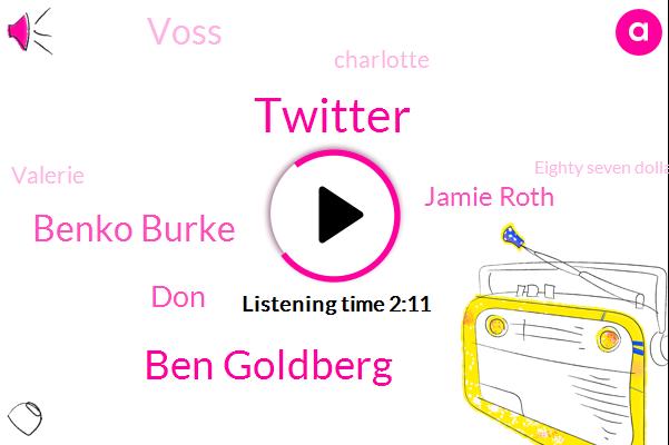 Twitter,Ben Goldberg,Benko Burke,DON,Jamie Roth,Voss,Charlotte,Valerie,Eighty Seven Dollar