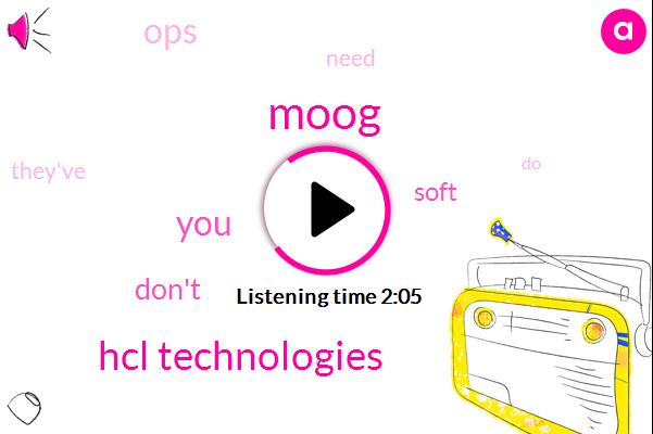 Moog,Hcl Technologies