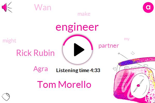 Engineer,Tom Morello,Rick Rubin,Agra,Partner,WAN