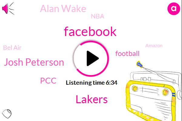 Facebook,Lakers,Josh Peterson,PCC,Football,Alan Wake,NBA,Bel Air,Amazon,Glasser,NH,Jamie Monroy,Barnes,Aegean,Geraldine Post,Apple,Chris,Jerry