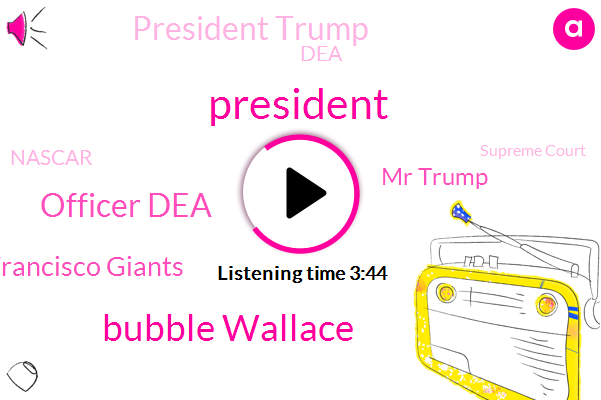 President Trump,Bubble Wallace,Officer Dea,San Francisco Giants,Mr Trump,DEA,Nascar,Supreme Court,Chief Of Staff,Joe Biden,Asymptomatic,White House,Sara Lee,Mark Meadows,Richard,Alex Stone,Toledo City Council,Ut Savage Arena