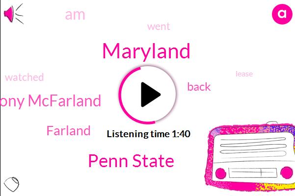 Penn State,Maryland,Anthony Mcfarland,Farland
