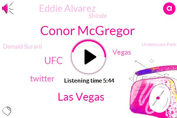 Conor Mcgregor,Las Vegas,Twitter,UFC,Vegas,Eddie Alvarez,Shinde,Donald Surani,Underscore Park,Eric,USC,LEE,MMA,Reporter