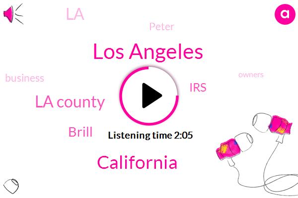 Los Angeles,California,La County,Brill,IRS,LA,Peter
