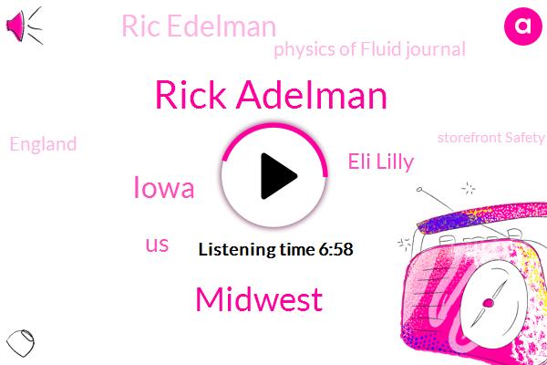 Rick Adelman,Midwest,Iowa,United States,Eli Lilly,Ric Edelman,Physics Of Fluid Journal,England,Storefront Safety Council,Regeneron,Partner,Goingto