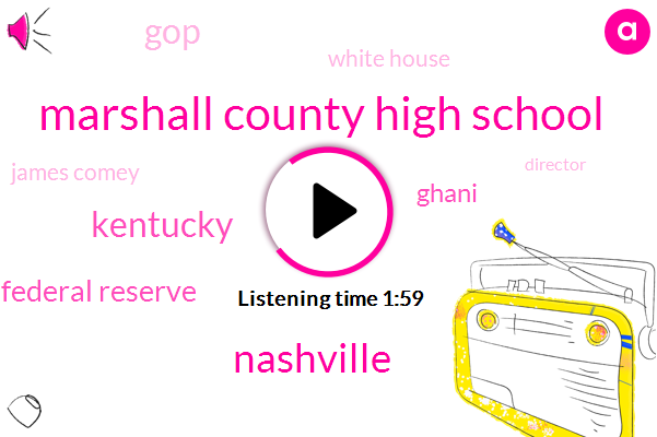 Marshall County High School,Nashville,Kentucky,Chairman Of The Federal Reserve,Ghani,GOP,White House,James Comey,Director,FBI,Special Counsel,Attorney,AP,Vanderbilt University Medical Center,Jeff Sessions,FED,Janet Yellen,Jerome Powell,Senate,The Deal,Chuck Schumer,Sargra Madani,Russia,President Trump,Donald Trump,Robert Muller