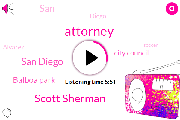 Attorney,Scott Sherman,San Diego,Balboa Park,City Council,SAN,Diego,Alvarez,Soccer,Comecon,United States,Belbow Park,New York,Aerospace Museum,California,Hall,Washington