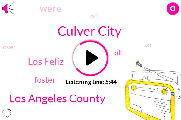 Culver City,Los Angeles County,Los Feliz