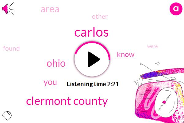 Carlos,Clermont County,Ohio
