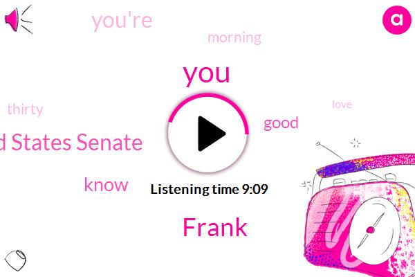 Frank,United States Senate