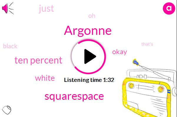 Argonne,Squarespace,Ten Percent