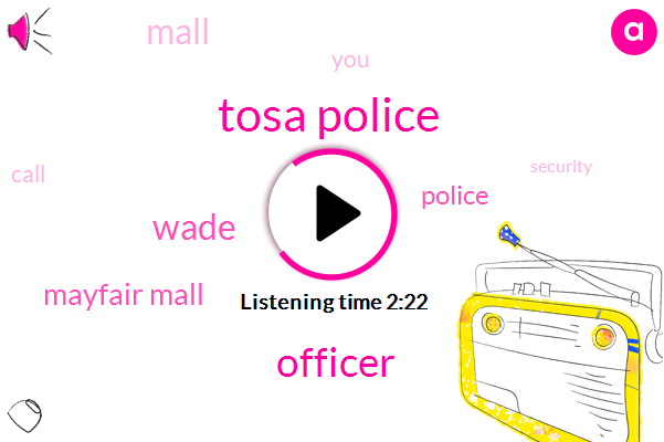 Tosa Police,Officer,Wade,Mayfair Mall