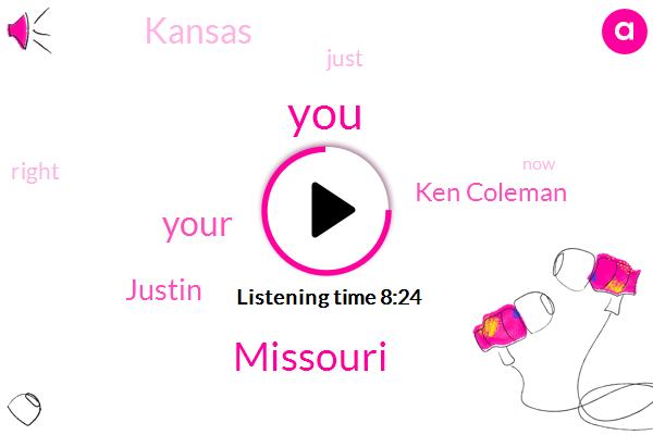 Missouri,Justin,Ken Coleman,Kansas