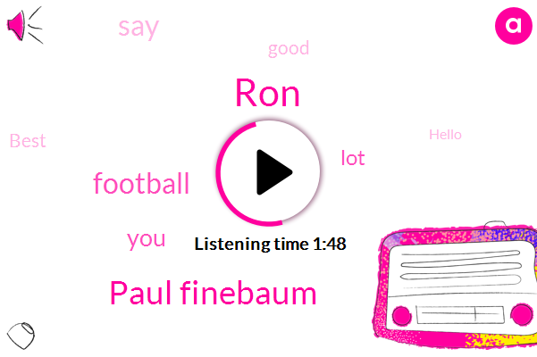 RON,Paul Finebaum,Football