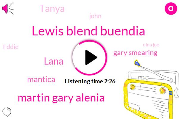 Lewis Blend Buendia,Martin Gary Alenia,Lana,Mantica,Gary Smearing,Tanya,John,Eddie,Dina Joe,Dachsie,Facebook,Kelly,UPI