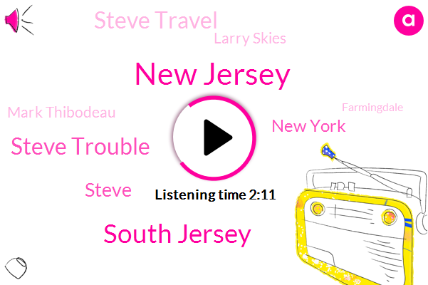 New Jersey,South Jersey,Steve Trouble,Steve,New York,Steve Travel,Larry Skies,Mark Thibodeau,Farmingdale,USC,Beth,Philadelphia