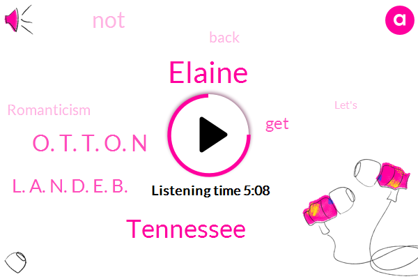Elaine,Tennessee,O. T. T. O. N,L. A. N. D. E. B.
