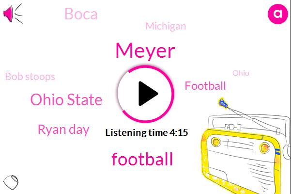 Meyer,Ohio State,Ryan Day,Football,Boca,Michigan,Bob Stoops,Ohio,Herbstreet,Fitzsimmons,Herbie,Golf,Archie Griffin,Smith,Nate,Lincoln Riley,University Of Cincinnati,Palm Springs,Dallas