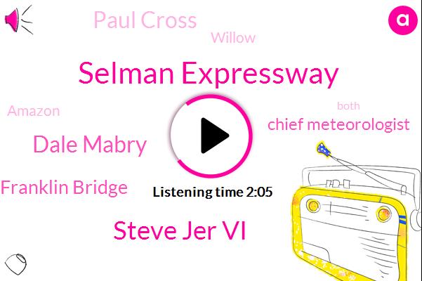 Selman Expressway,Steve Jer Vi,Dale Mabry,Howard Franklin Bridge,Chief Meteorologist,Paul Cross,Willow,Amazon