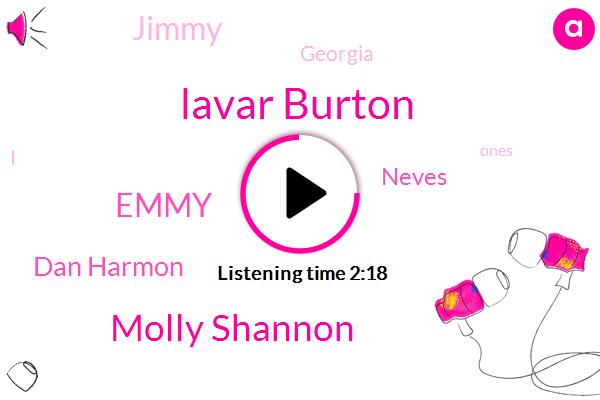 Lavar Burton,Molly Shannon,Emmy,Dan Harmon,Neves,Jimmy,Georgia