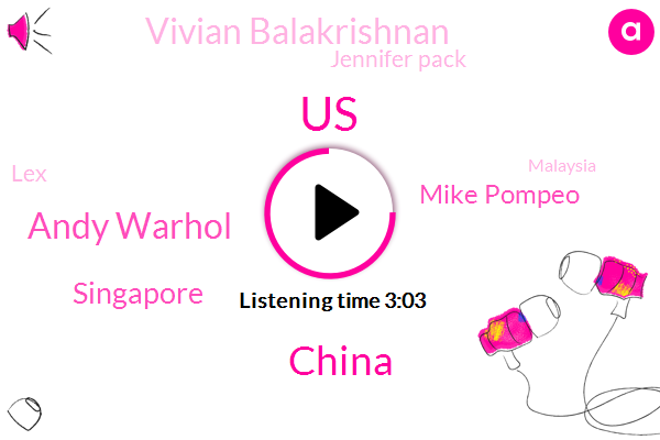 Andy Warhol,United States,China,Singapore,Mike Pompeo,Vivian Balakrishnan,Jennifer Pack,LEX,Malaysia,Asia,Blake Gopnik,Maryland,LOU,Shanghai,India,South Korea,Japan