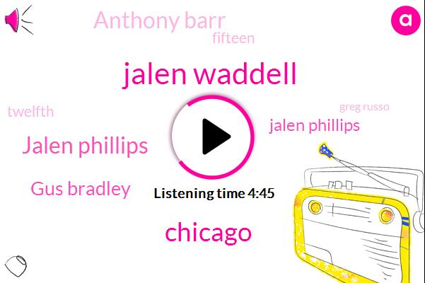 Jalen Waddell,Chicago,Jalen Phillips,Gus Bradley,Anthony Barr,Twelfth,Fifteen,Greg Russo,Phillips,Jeremiah,Sixteen,Daniel Jones,Eleven,Thirteen,SIX,TWO,Twenty,Dallas Cowboys,Second Patch