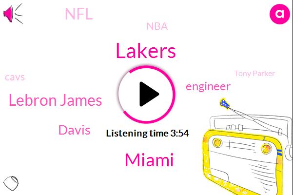 Lakers,Miami,Lebron James,Engineer,NFL,Davis,NBA,Cavs,Tony Parker,Tim Duncan,Peckham,Erik Spoelstra,MVP,Butler,Raymond,Robinson,L. A.