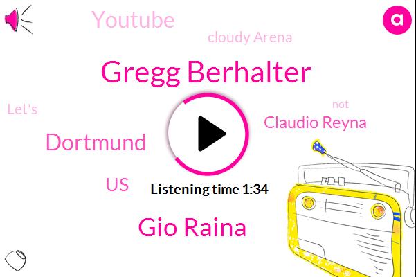 Gregg Berhalter,Gio Raina,Dortmund,Espn,United States,Claudio Reyna,Youtube,Cloudy Arena