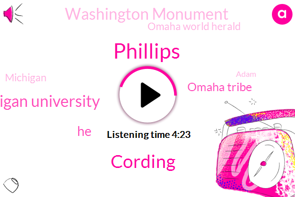 Phillips,Cording,Eastern Michigan University,Omaha Tribe,Washington Monument,Omaha World Herald,Michigan,Adam,Washington Post,South Dakota,Covington,Dakota Access,America,Philip,Nebraska,Washington,EMU,Assault