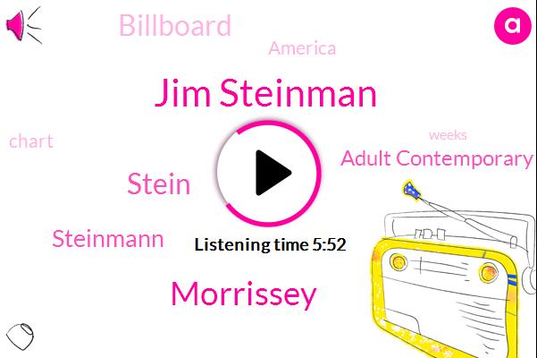 Jim Steinman,Morrissey,Stein,Steinmann,Adult Contemporary Charts,Billboard,America