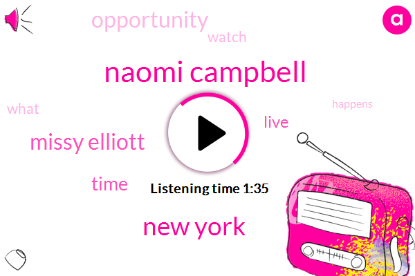 Naomi Campbell,New York,Missy Elliott