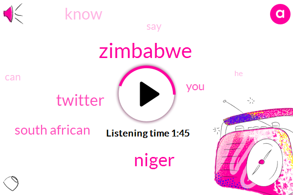 Zimbabwe,Niger,Twitter,South African