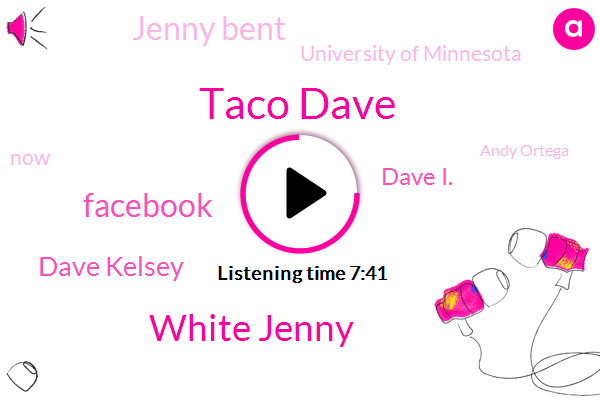 Taco Dave,White Jenny,Facebook,Dave Kelsey,Dave I.,Jenny Bent,University Of Minnesota,Andy Ortega,Giants,Fond Du Lac Wisconsin,United States,Johnny,Nick,Katie Wb,Dorito Shell,Katie Wbz,Ryan,Davis,Jemma,Gladys