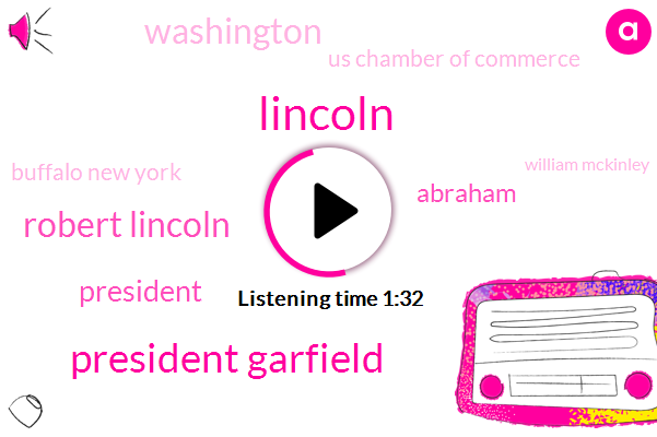 Lincoln,President Garfield,Robert Lincoln,President Trump,Abraham,Washington,Us Chamber Of Commerce,Buffalo New York,William Mckinley,Eighteen 81 Twenty Years,Twenty Years,Six Years