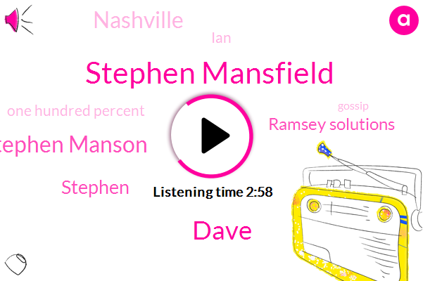 Stephen Mansfield,Dave,Stephen Manson,Stephen,Ramsey Solutions,Nashville,IAN,One Hundred Percent