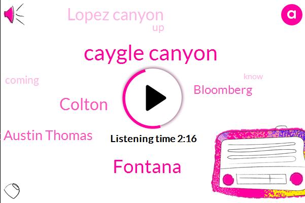 Caygle Canyon,Fontana,Colton,Mark Austin Thomas,Bloomberg,Lopez Canyon