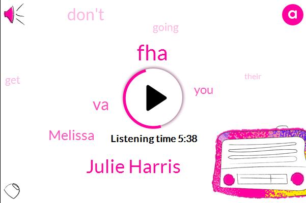FHA,Julie Harris,VA,Melissa